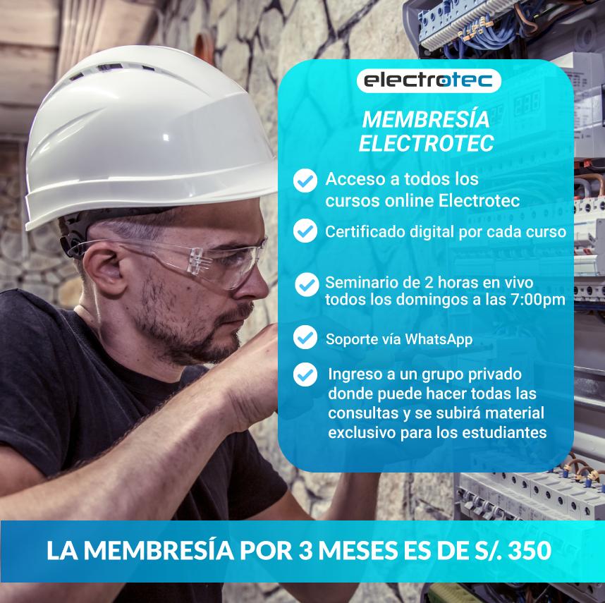 MEMBRESÍA ELECTROTEC