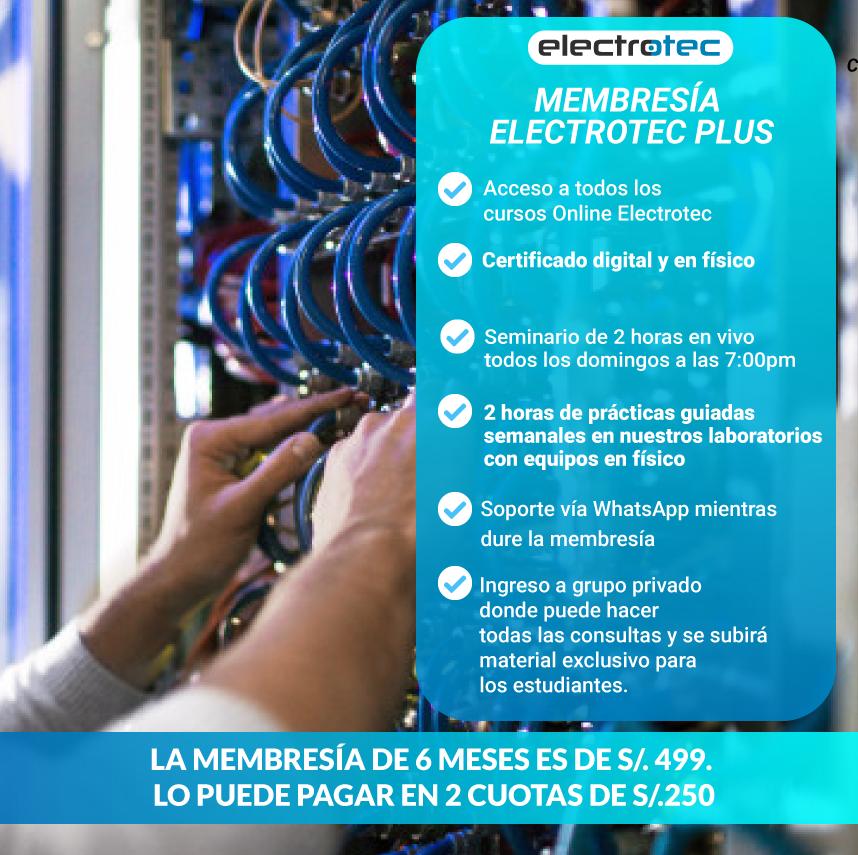 MEMBRESÍA ELECTROTEC PLUS
